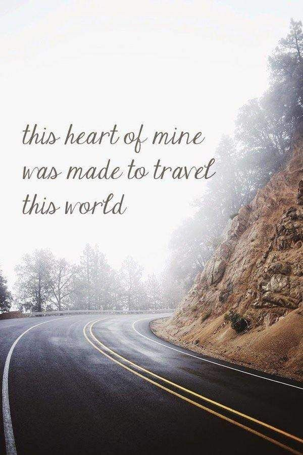 60 Inspirational Travel Quotes with stunning World Images ...