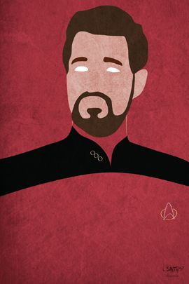William Riker, the most awesome man in the Star Trek universe.
