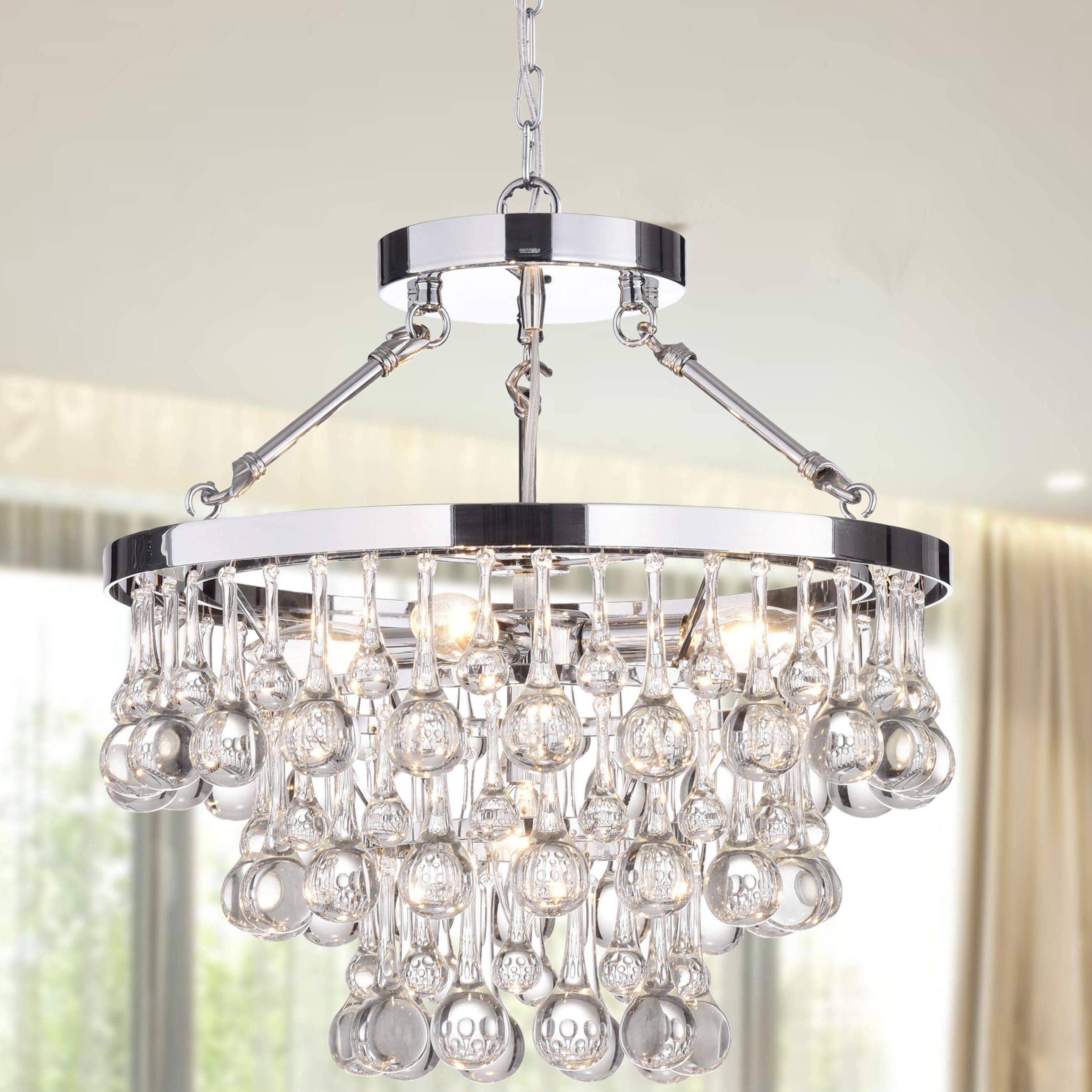 Koalemos 5 Light Crystal Chandelier