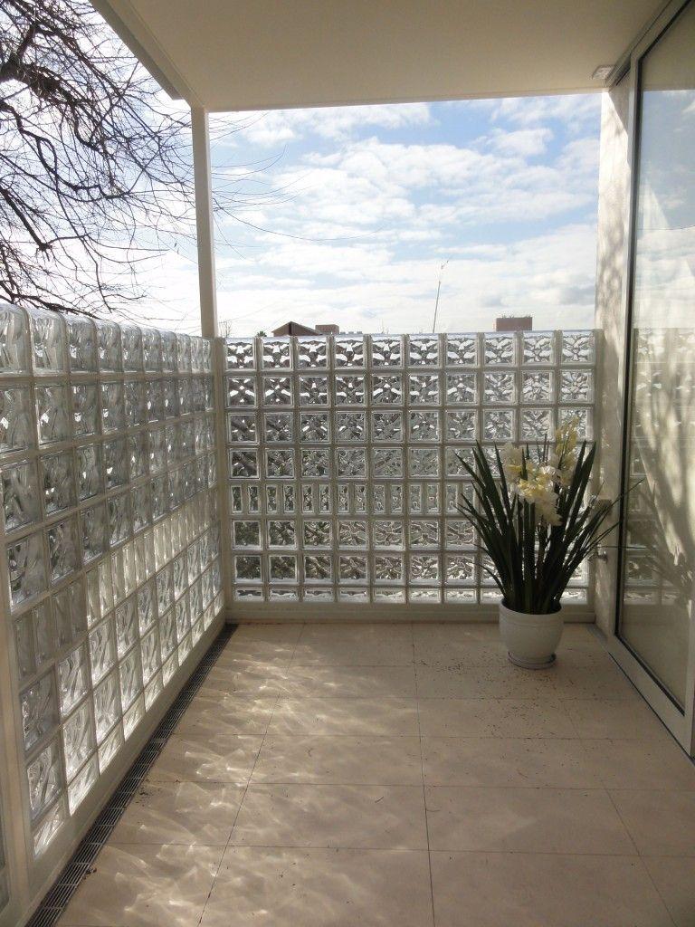 Glass Block Balustrades Glass Blocks Wall Wall Exterior Glass Blocks