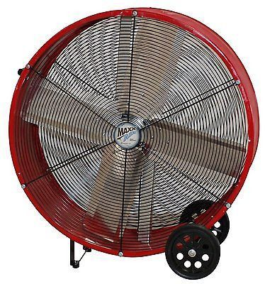 Portable Commercial Cooling Fan 36 Drum Warehouse Industrial