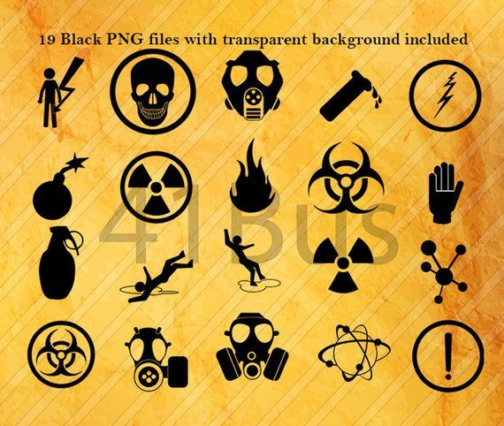 21 Warning Symbol Clipart Png Psd Eps Ai Etsy In 2021 Dna Artwork Silhouette Art Clip Art