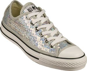 10d99d2811c5 Converse All-Star Silver Sequin Chuck Taylors  Love It or Hate It ...
