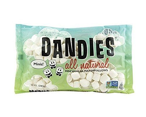 Dandies Vegan Marshmallows Vanilla Minis, 10 Ounce by Dandies #veganmarshmallows Dandies Vegan Marshmallows Vanilla Minis, 10 Ounce by Dandies - Marshmallowchef #veganmarshmallows