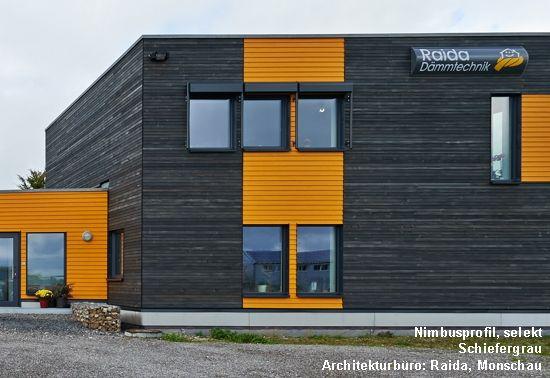 Photo of Vorvergraute Holzfassade | Produkt: Dura Patina, Nimbusprofil, Sc