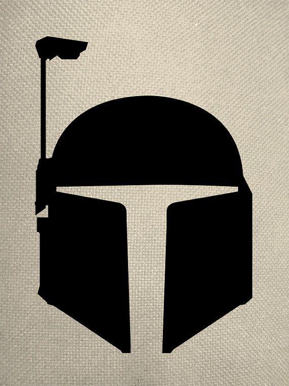Mandalorian Helmet Silhouette : mandalorian, helmet, silhouette, Silhouette, Style, Helmet, EverythingSilhouette,, 10.50, Stencil,, Tattoo