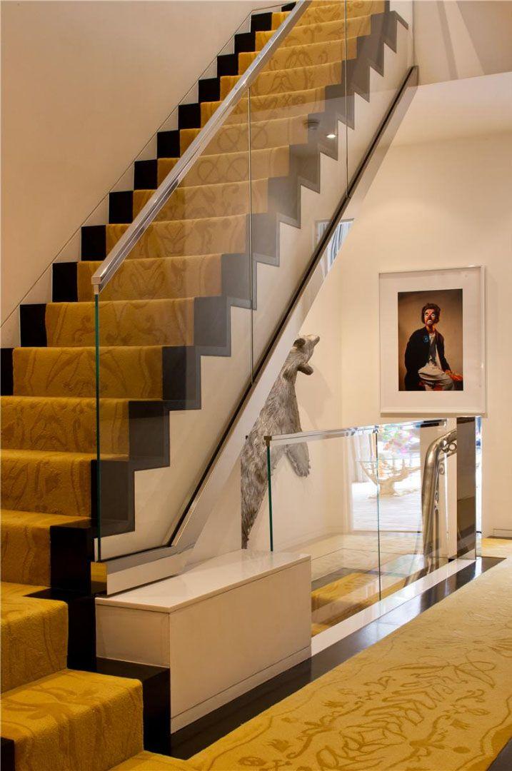 Best An Upper East Side New York Triplex Interior Designed By Jonathan Adler Staircase Design 400 x 300