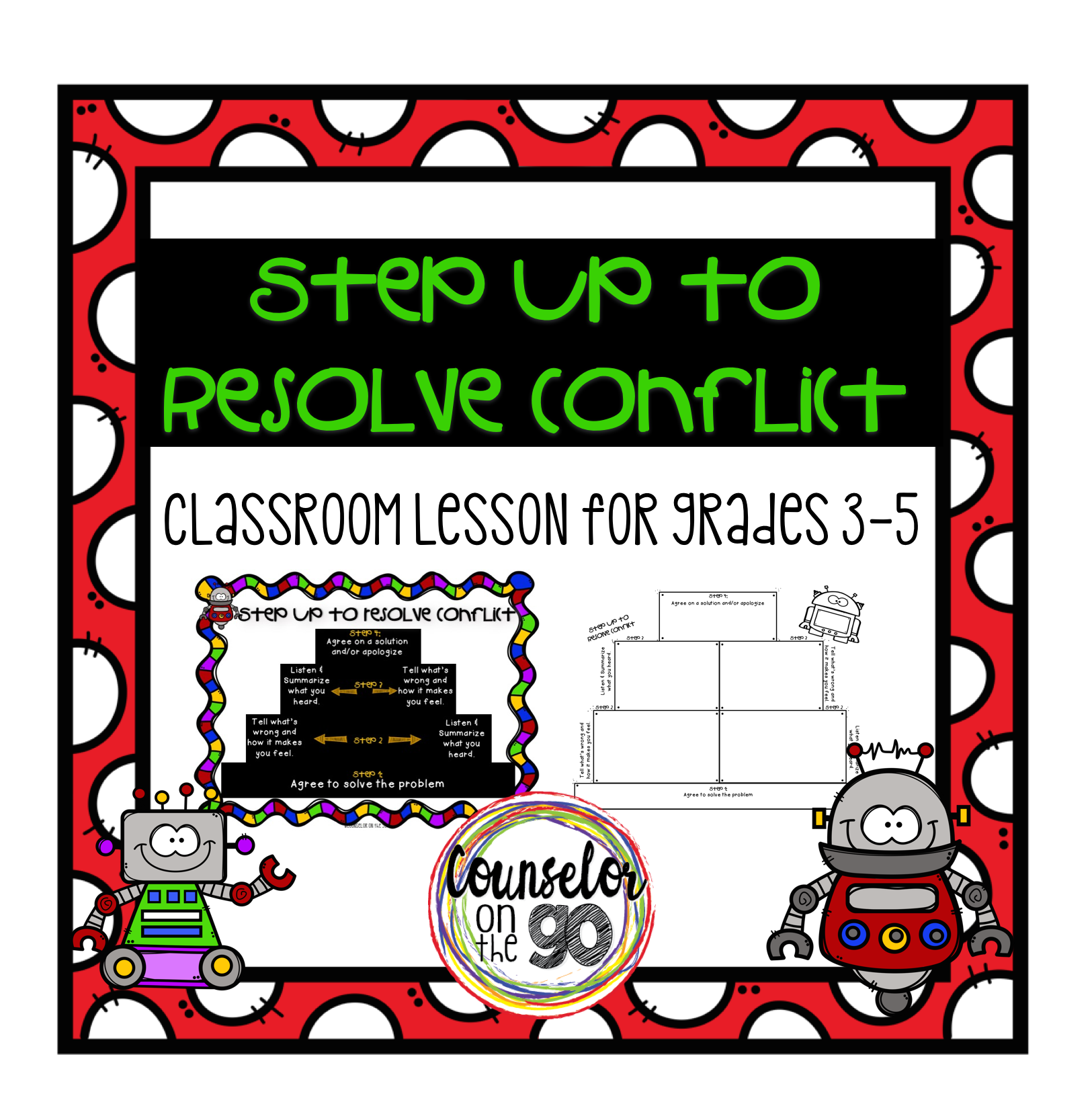 Conflict Resolution Small Group Or Classroom Lesson