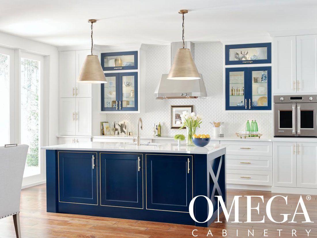 Omega Cabinets Spring Sale At Jm Kitchen Bath Denver Castle Rock Ends Soon Https Www Jmwoodworks Com Kitchen Trends Blue Kitchen Island Omega Cabinetry