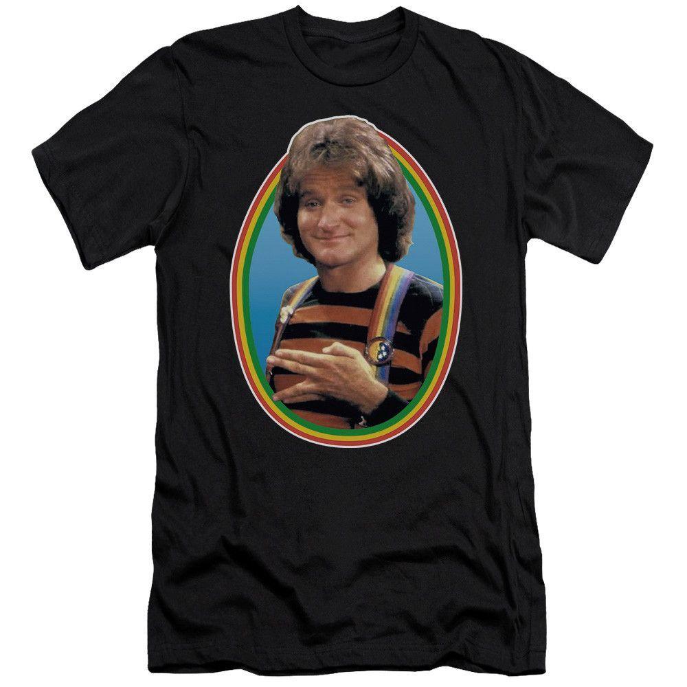 Mork & Mindy: Mork Slim Fit T-Shirt