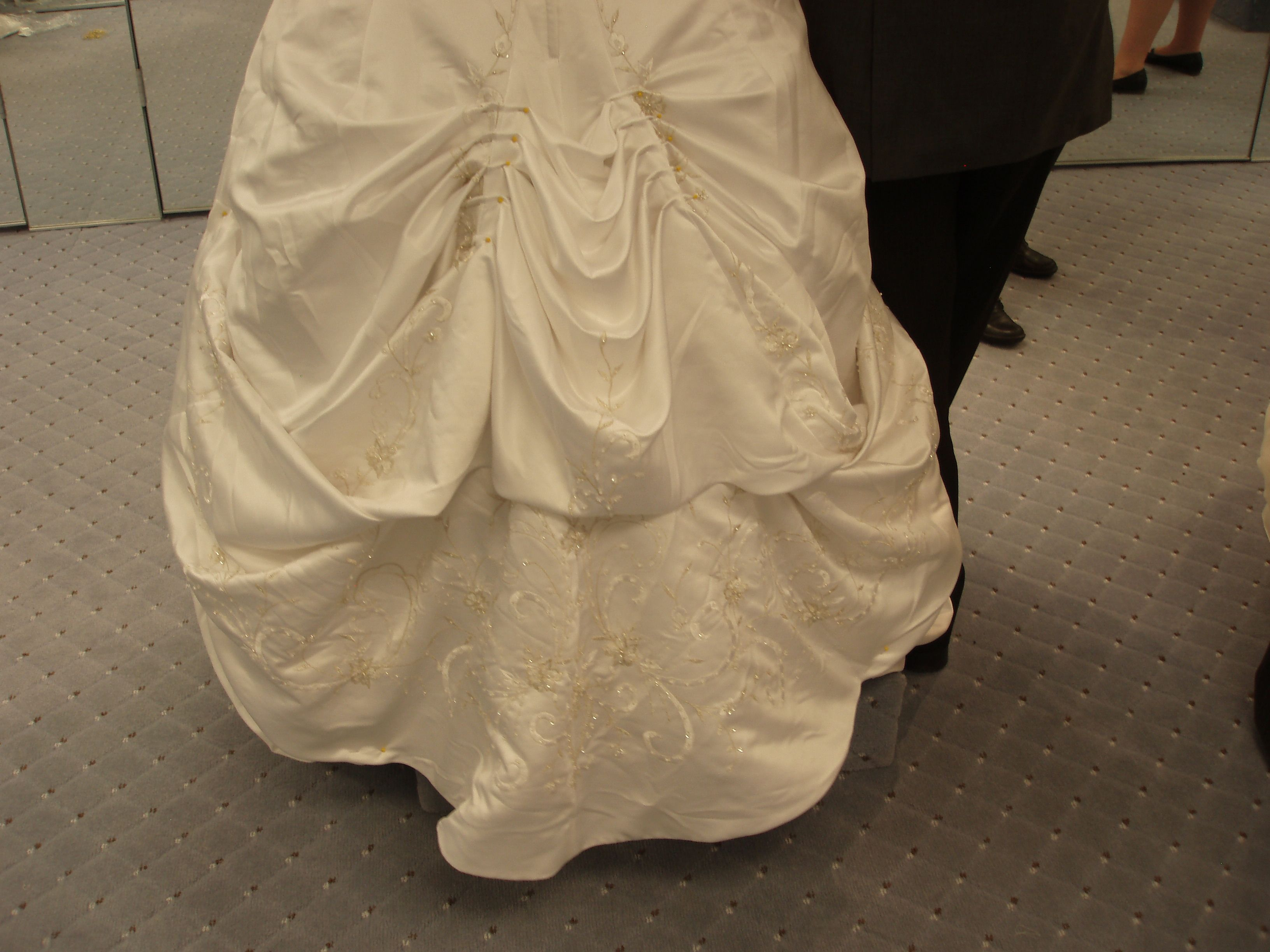 Bustle A Wedding Gown Gowns