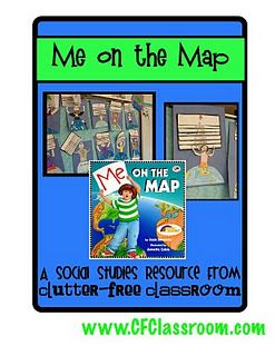 map skills intro - I actually read this book when I was taking Methods of Social Studies!  lol