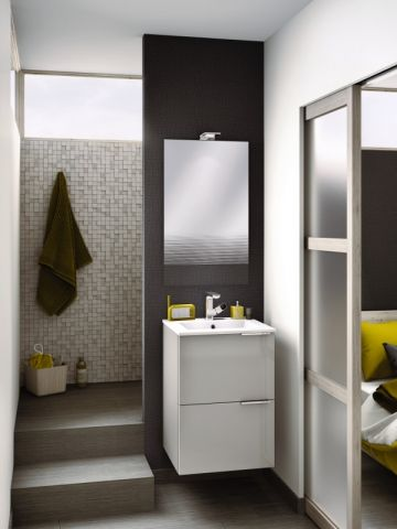 petite salle de bains 15 solutions d 39 am nagement bathroom bathroom small bathroom. Black Bedroom Furniture Sets. Home Design Ideas