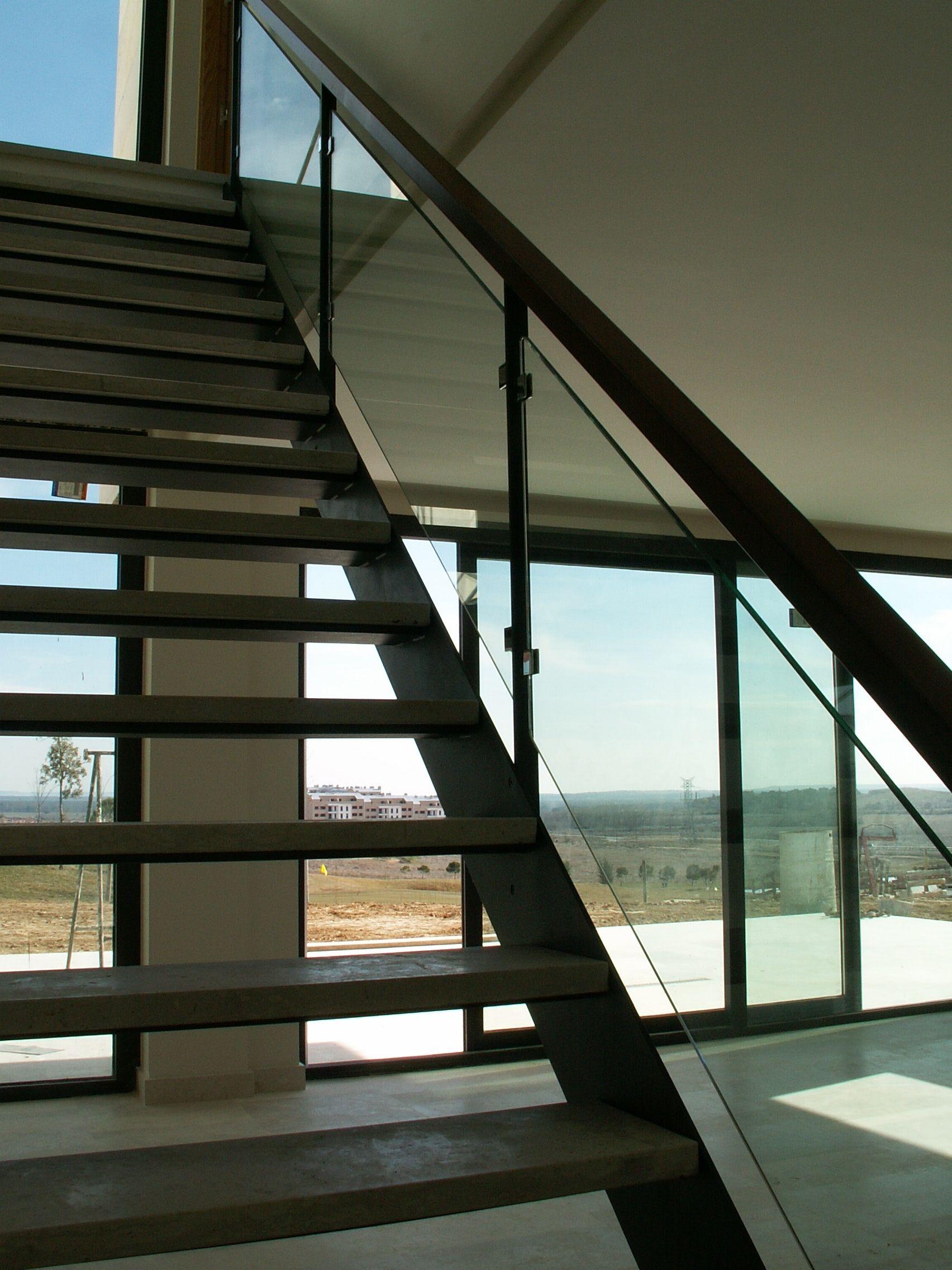 Escalera Style Moderno Color Gris, Negro