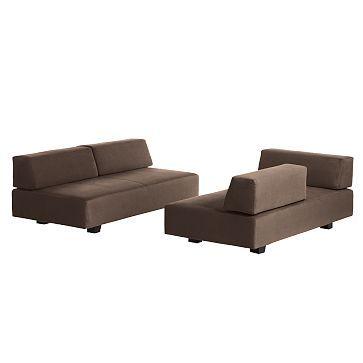 Sofa Table I love the Tillary Modular Seating Set Three Sofas Back