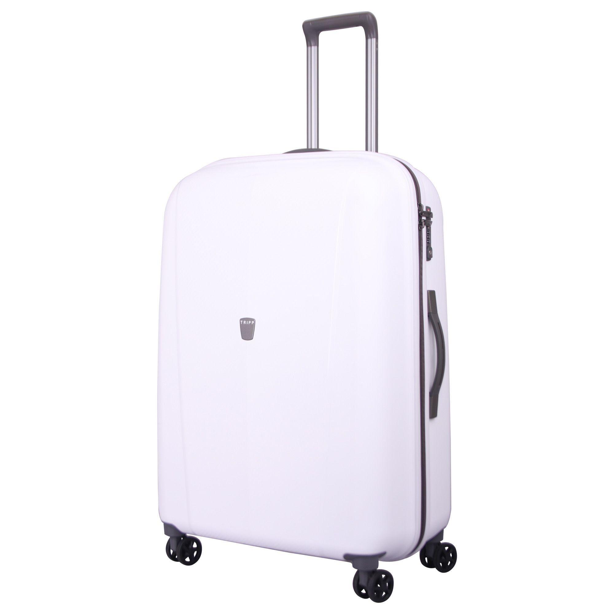 65efc6a4e Tripp White Ultimate Lite II Large 4 Wheel Suitcase Large Suitcase Colour:  WHITE 4 Wheels, Large, Tsa Lock The Ultimate Lite large 4 wheel travel  suitcase ...