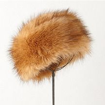 Weald Faux-Fur Hat BY ANTHROPOLOGIE