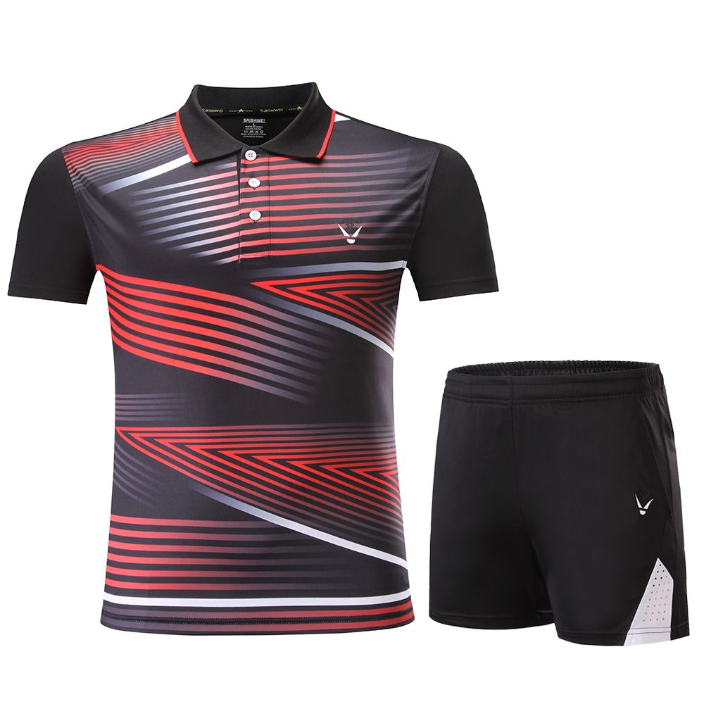 a31881b64ad Nouveau vêtements De sport de Badminton Femmes Hommes