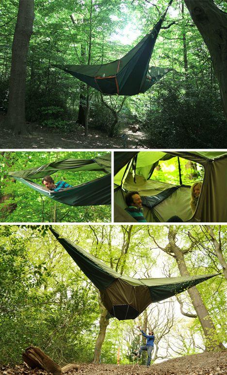 Tentsile Extreme Travel Tree Tents Hang Like Hammocks & Tentsile: Extreme Travel Tree Tents Hang Like Hammocks ...