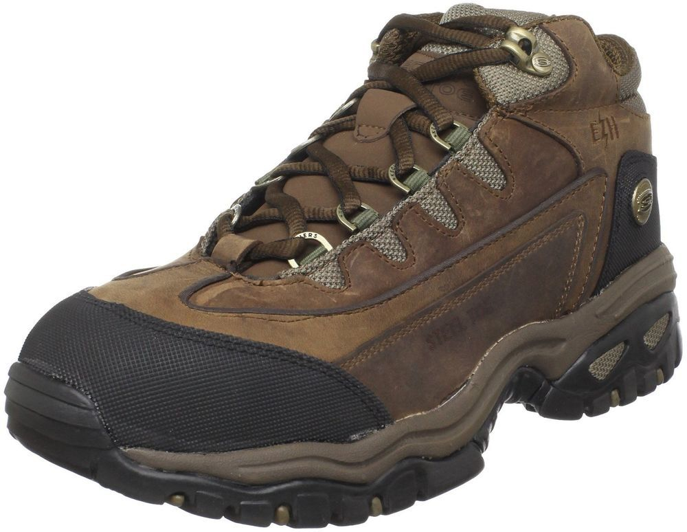 Sketchers For Work Men S Blue Ridge Boot 7 5 D M Brand New In