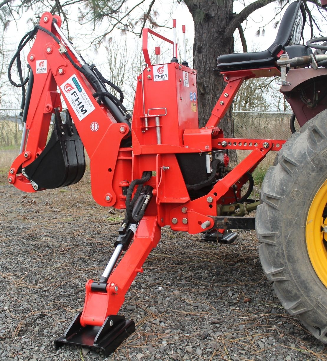 6' Dig Self Contained Tractor Backhoe FH-BH6 in 2019 | Stuff to buy