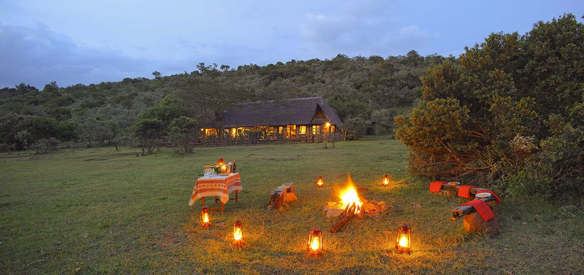 Nyati House lies in #Kenya's spectacular Mara North Conservancy, which has low visitor numbers & excellent game viewing. #SecretAfrica