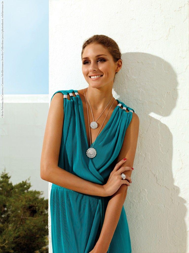 bc860dc67b8 Olivia Palermo for Carrera y Carrera Mediterraneo Jewelry Collection (2011)  photoshoot