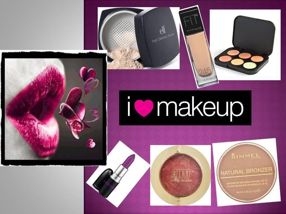 I love the make up