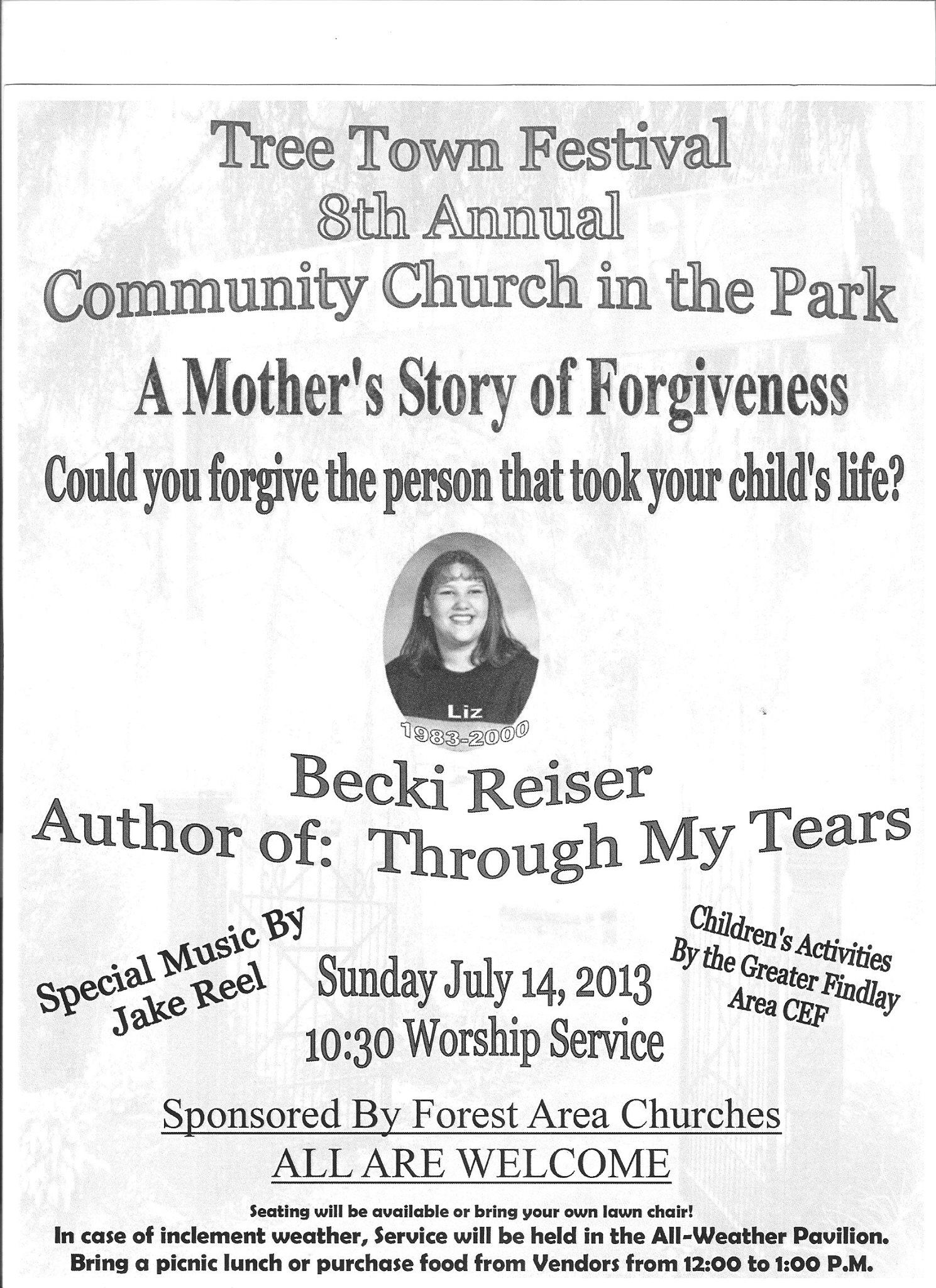 Festival this weekend, on Sunday 7/14/13 I will be sharing. Would love to see you there.