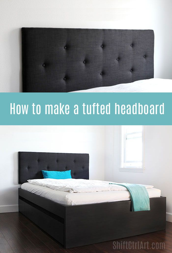 How to make a tufted headboard | Camas, Recamara y Cabeceros