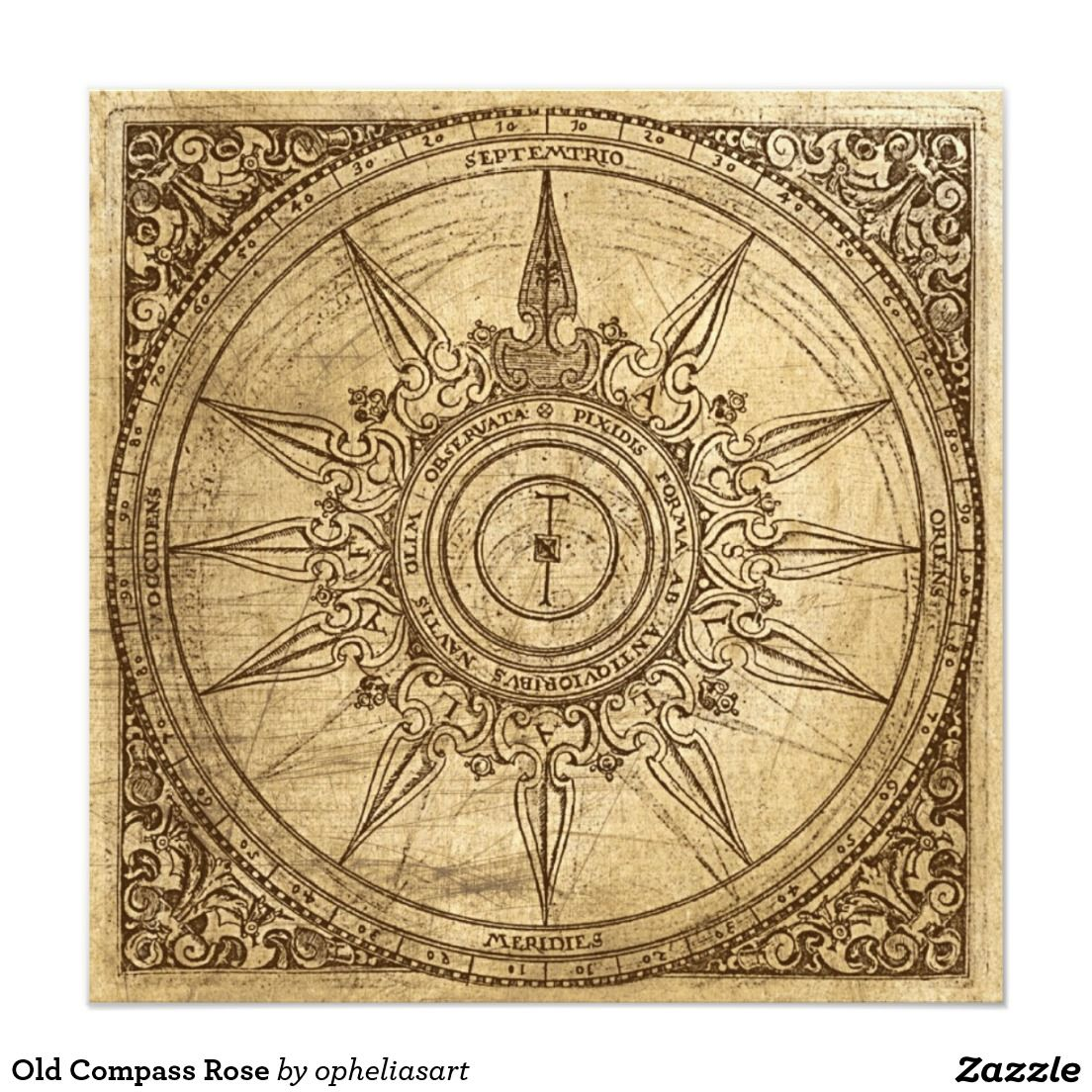antique compass rose - Google Search | Culture maps ...