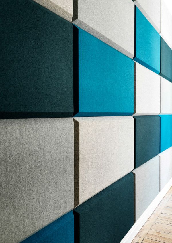 Multifunctional Sound Absorbent Screen System For The