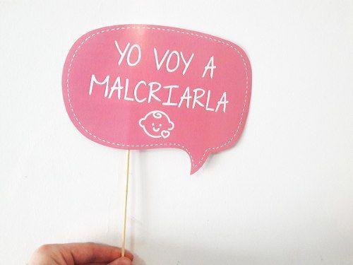 Letrero De Happy Birthday Para Imprimir ~ Tierna elefantina banner letrero en foami
