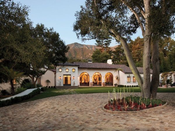 Armand Hammer Family Lists 26 Million In Houses Spanish Colonial Homes Mediterranean Style Homes Mediterranean Style