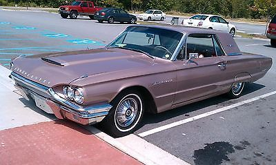Ford Thunderbird 2dr Coupe 390cid 300hp4661 1964 Ford