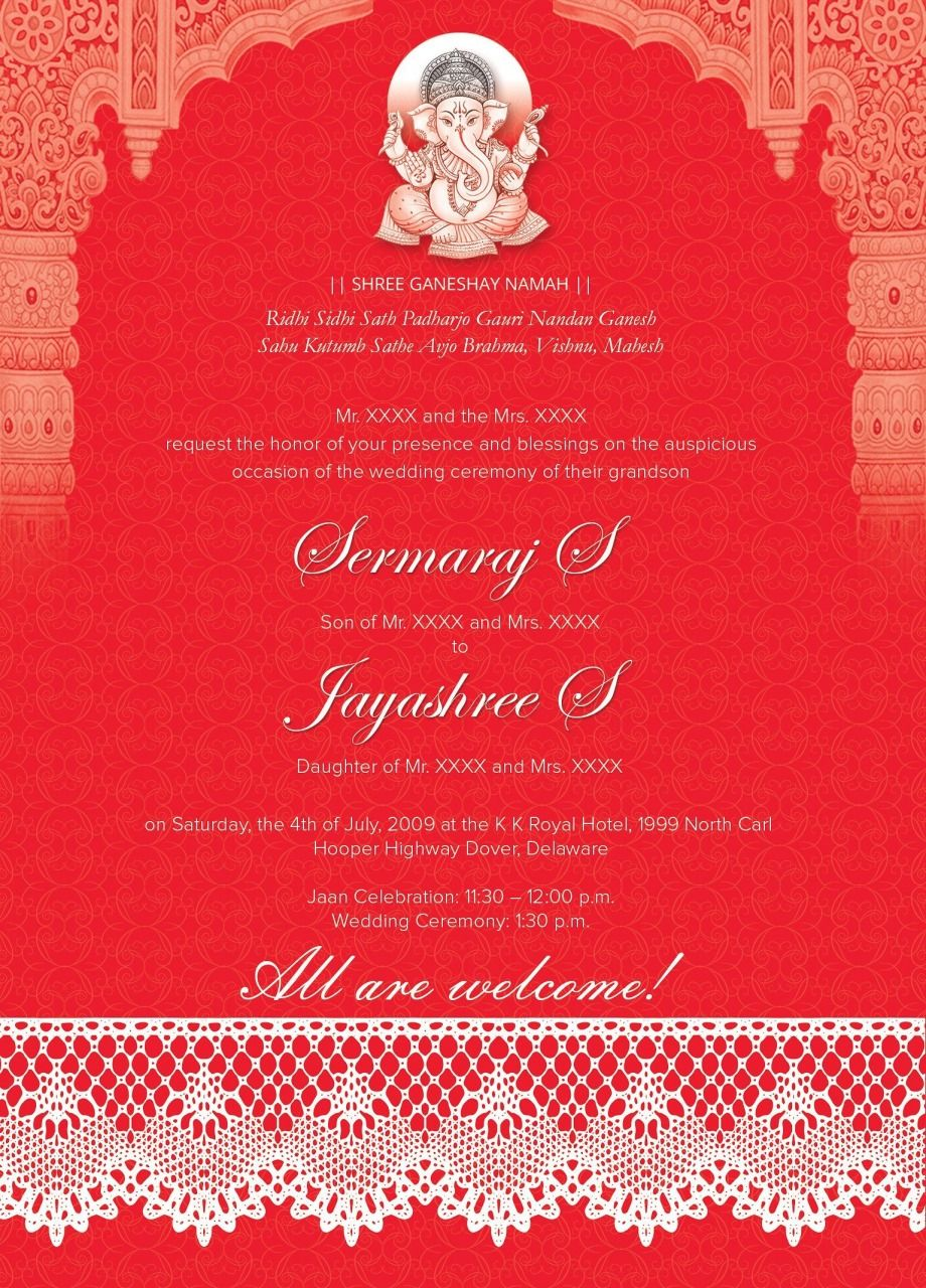 3 Awesome Create Indian Wedding Invitation Card Online Free 3