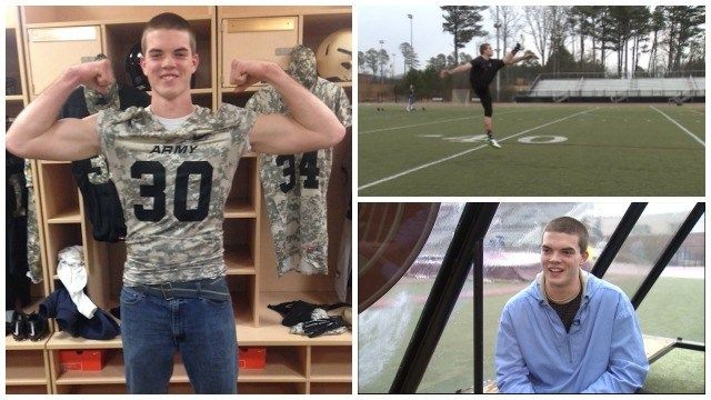 This homeschooled student is offered a full scholarship to the United States Military Academy to play football.