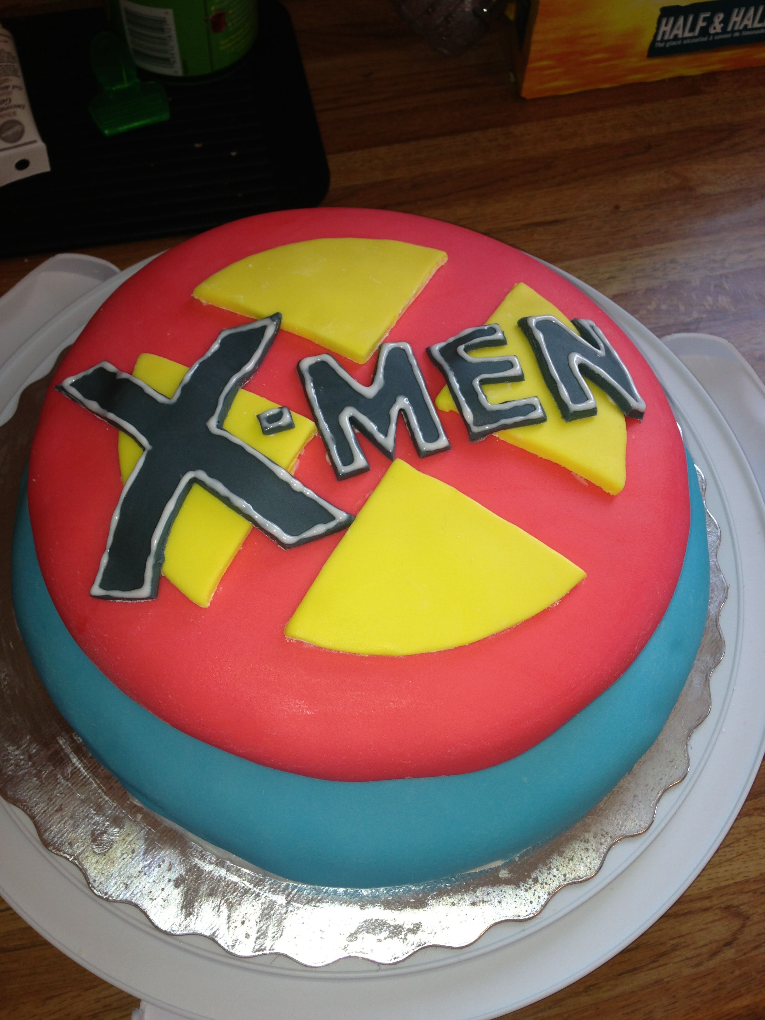 X-men cake that I made | Cakes! in 2019 | Cake, Boy birthday parties ...