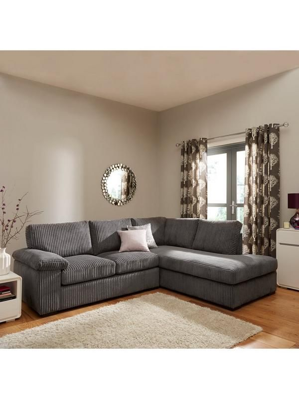 Amalfi Right Hand Standard Back Fabric Corner Chaise Sofa White Corner Sofas Corner Sofa And Chair Corner Sofa Fabric