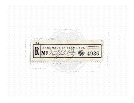 #vintage label