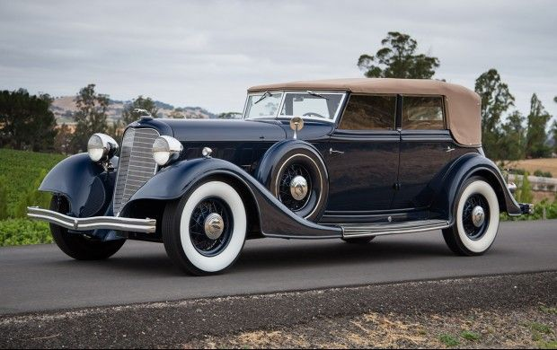 1934 lincoln kb convertible sedan coachwork by dietrich for Ford motor company truck division