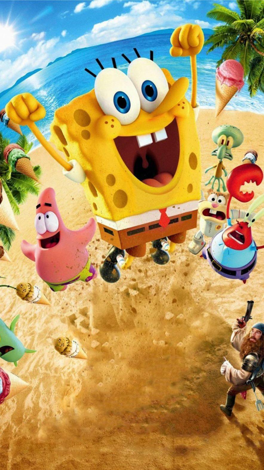 Spongebob Squarepants Mobile Wallpaper 4k
