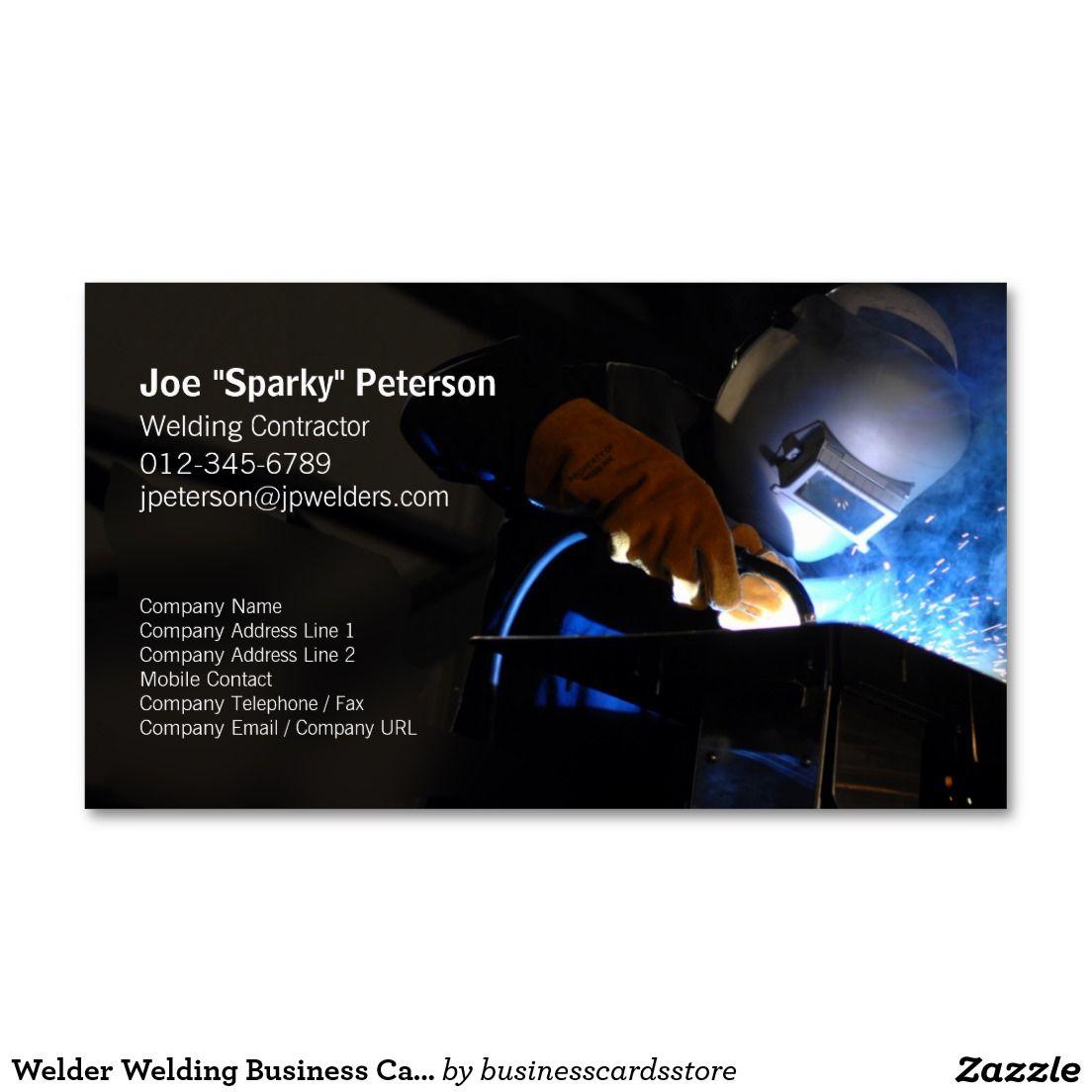 tarjetas de presentacion de soldadores - Buscar con Google ...