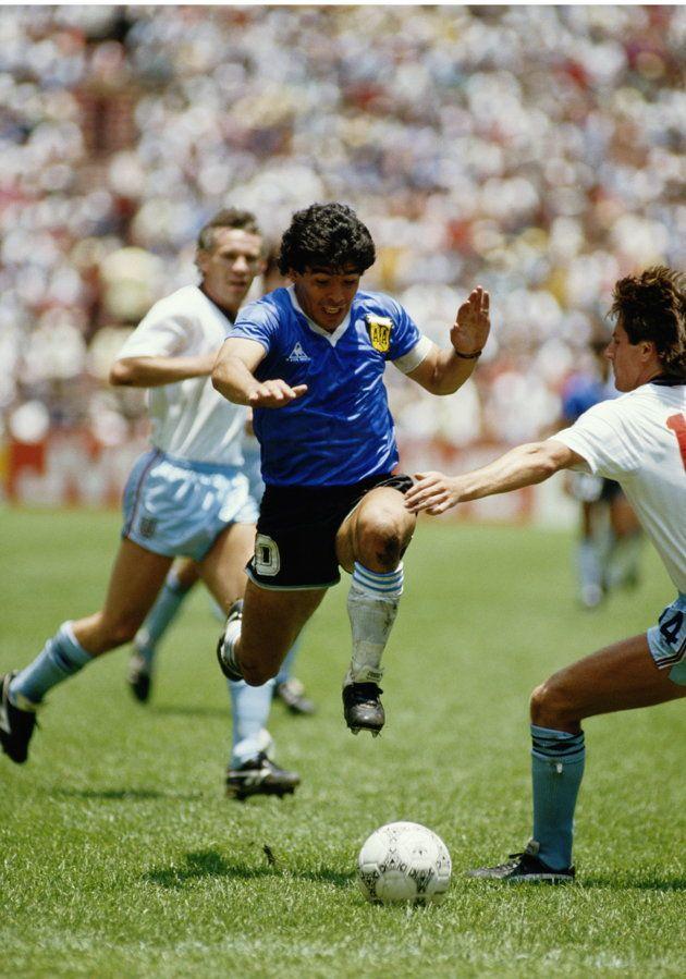 World Cup Moments Relive Diego Maradona S Goal Of The Century Against England Diego Maradona England Football Team World Football