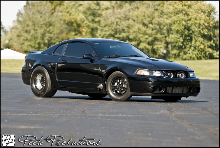 Twin Turbo Mustang Cobra 2004 Ford New Edge