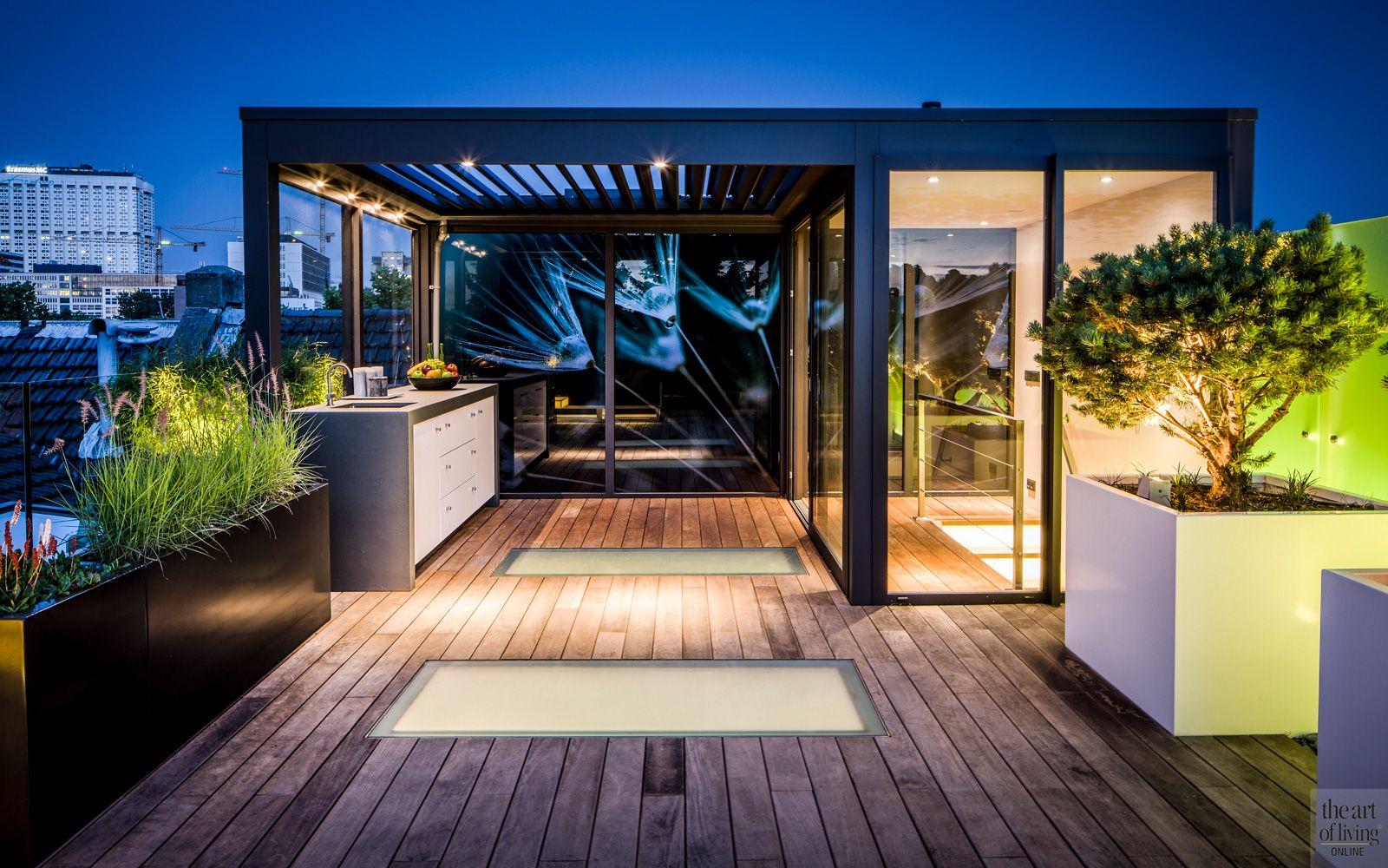 Modern dakterras modern verandas and balconies
