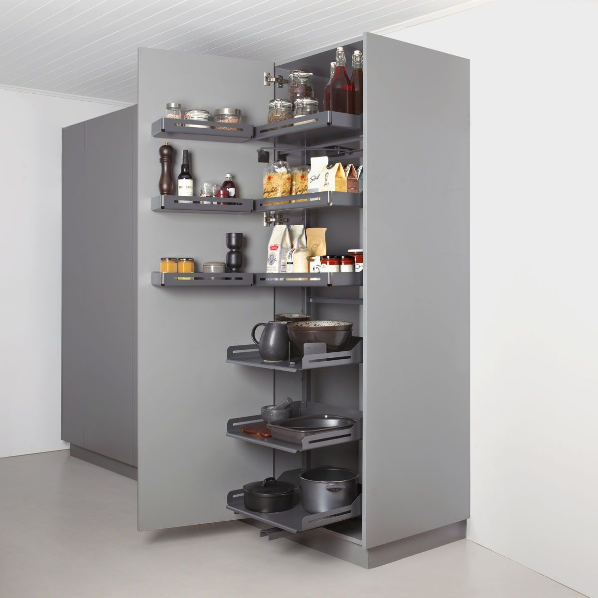 Hochschrank: Pleno Plus in der Küche, Apothekerschrank und