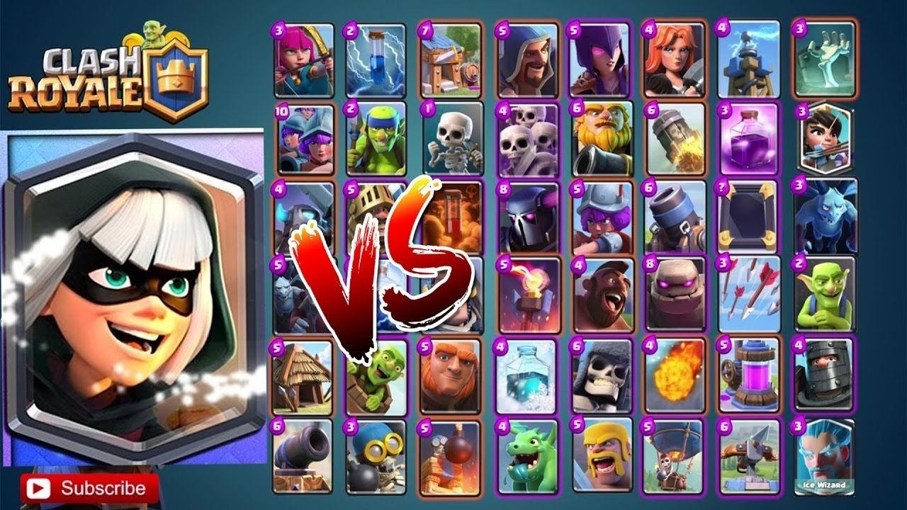 New Bandit vs All Cards in Clash Royale | New Legendary