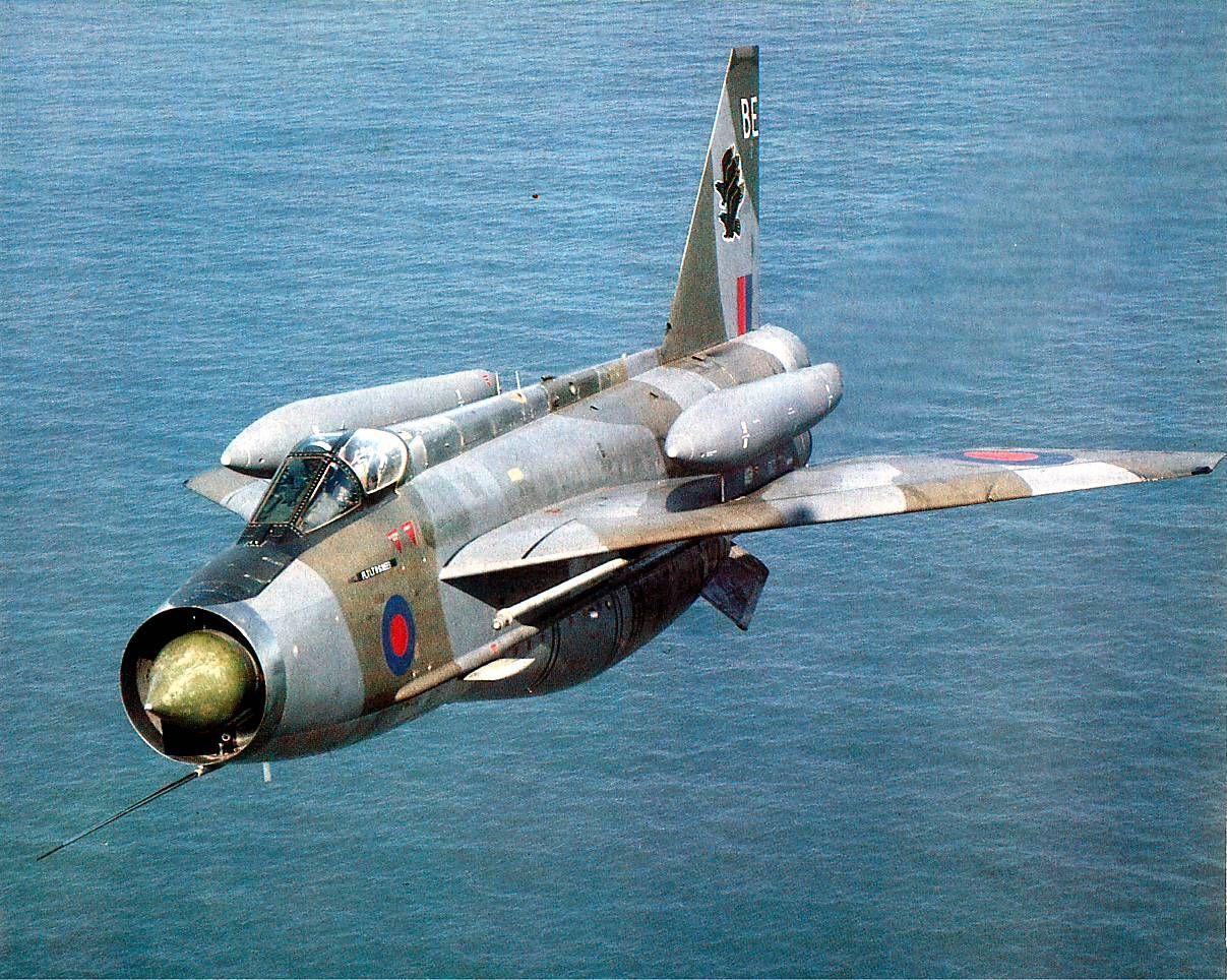 Lightning British aircraft, Military aircraft, Fighter jets