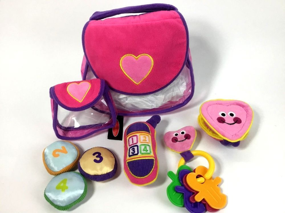 Melissa /& Doug Pretty Purse Fill and Spill Soft Play Set Toddler Toy 3049